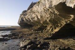 steniga söder för africa kustlinje Arkivbilder