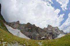 stenigt berg Arkivbild