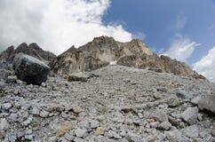 stenigt berg Royaltyfri Foto