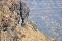 stenigt berg Arkivbilder
