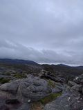 stenigt berg Royaltyfri Fotografi