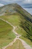 Stenigt kullelandskap i sommar Royaltyfria Bilder