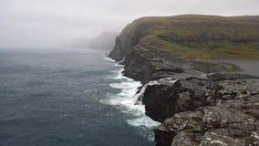 Stenigt kustlandskap arkivfilmer