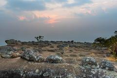 Stenigt landskap Royaltyfria Bilder