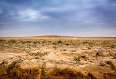 Stenigt landskap Arkivfoton