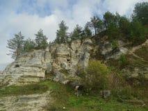 Stenigt landskap i den västra Ukraina, Stilske Royaltyfri Bild