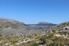 Stenigt landskap i Majorca arkivfoton