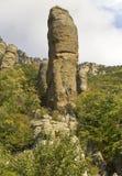 Stenjätte i dalen av spökar royaltyfri fotografi