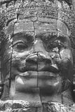Stenkonst, Angkor Wat, Cambodja Arkivfoton