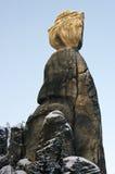 stenkvinna Arkivbild
