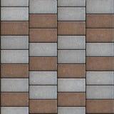 Stenlägga att bestå av rektanglar som läggas ut i a Arkivfoton