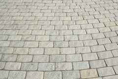 stenlägga för tegelstenar Arkivfoton