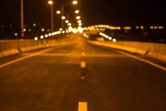 Stenlade vägar och trafiklinjer fotografering för bildbyråer