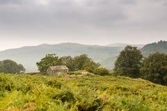Stenladugård i den Duddon dalen arkivbilder