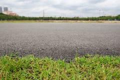 Stenlagt med gräs Arkivfoton