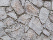 Stenlagt stort stenbakgrundsfotografi, grov textur 3D Arkivbilder