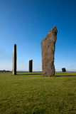 Stenness Standing Stones, Orkney, Scotland Stock Image