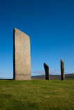 Stenness Standing Stones, Orkney, Scotland Stock Images
