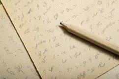 Stenografie Royalty-vrije Stock Foto