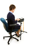 Stenographer Working Stock Images