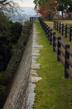 Stenslottvägg Royaltyfri Bild