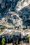 Stenstad i Provence, Frankrike Arkivbilder