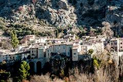 Stenstad i Provence, Frankrike Royaltyfria Bilder