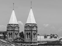 Stenstad i Zanzibar royaltyfria foton