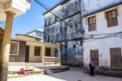 Stenstad Zanzibar Royaltyfri Fotografi