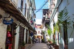 Stenstad Zanzibar Royaltyfria Bilder