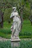 Stenstaty av en monk royaltyfri foto