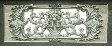 Stenstaty av en monk Royaltyfria Bilder
