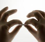Stent для endovascular хирургии, обжатия Стоковые Фотографии RF