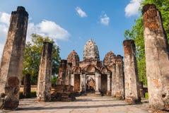 Stentempelsukhothai Royaltyfria Bilder