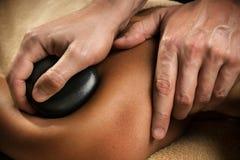 Stenterapi - massagenärbild arkivbilder
