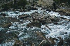 Stentextur av floden Arkivfoton