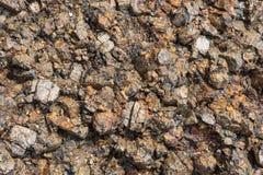 Stentextur, granit nordlig natur arkivbild
