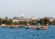 StenTown, Zanzibar Arkivfoto