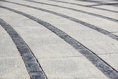 Stentrottoartextur Bakgrund för trottoar för granitkullersten asfull Abstrakt bakgrund av gammal kullerstentrottoar Royaltyfri Foto