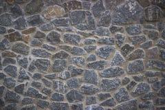 Stentrottoartextur Cobblestoned bakgrund för granit Arkivbilder