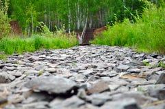 Stenväg Fotografering för Bildbyråer