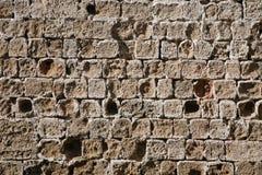 stenvägg Arkivfoto
