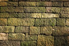 stenvägg Arkivbild