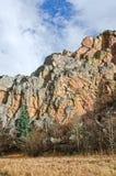 Stenvägg av Stonewall, Colorado Royaltyfria Foton