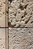 Stenvägg, detalj Royaltyfria Bilder