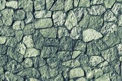 Stenvägg för mosaisk textur av grön färg Royaltyfria Bilder