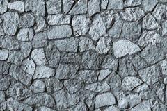 Stenvägg för mosaisk textur av silvrig färg Arkivbilder