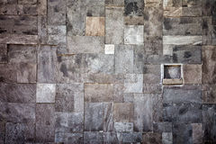 Stenvägg i mosaik Royaltyfria Bilder