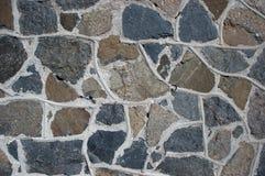 Stenvägg som bakgrund Arkivfoton