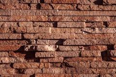 Stenvägg, textur, bakgrund. Arkivbilder